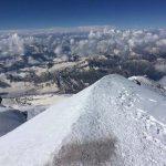 Die Aussicht vom höchsten Berg Europas is überwältigen
