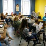 Besuch einer Englisch Schule in Cherepovets