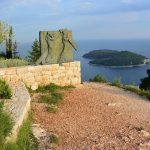 Kriegsdenkmal auf dem Hausberg von Dubrovnik