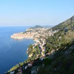 Rückblick auf die Altstadt Dubrovnik