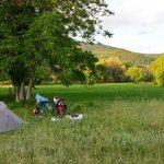 Camp nach der Grenze