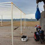 Camp auf dem langen Arm vor Mesolongi