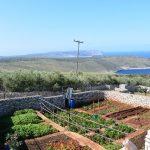 Garten vor dem Ende von Europa