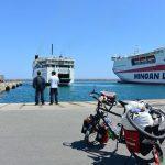 Fähren Ankfunft in Heraklion, Kreta