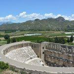 Amphietheater in Aspendos