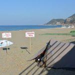 Camp an der Beach in Alanya