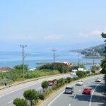 Highway am Schwarzen Meer