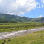 Kaukasus, hinten liegt unser BC
