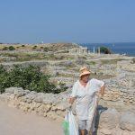 Wir besuchen diverse Sehenswürdigkeiten wie die Ruinen von Sewastopol