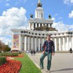 Sightseeing in Moskau, ich besuche viele Pärke
