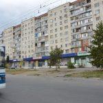 Russische Wohnblöcke
