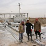 Afghaner in der Steinsägerei
