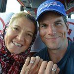 Frisch verheiratet im Bus von Teheran nach Isfahan