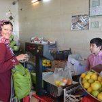 Einkauf im Gemüseladen