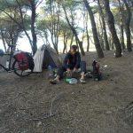 Ein leerer Campingplatz