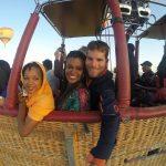Ballonfahrt mit den Bahamas Girls