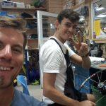 Der super Mech repariert mein Hinterrad