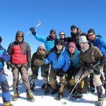 Alle Teilnehmer der Elbrus Besteigung haben es geschafft!