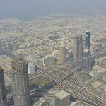 Aussicht auf Dubai vom Khalif Tower