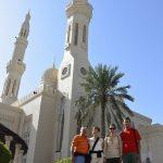 Besuch einer Mosche