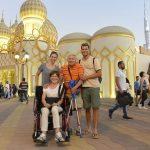 Familie Kistler in der Global Village