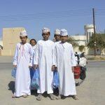 Schüler in Oman