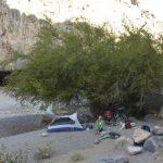 Camp im Wadi Dam