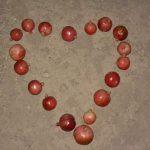 Granatapfel-Herz