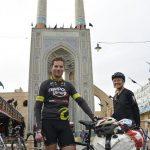 Ankunft in Yazd bei der Jameh Moschee