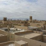 Aussicht über die Dächer von Yazd