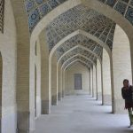 Säulengang in einer Moschee